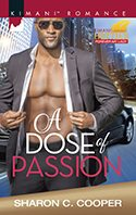 Book cover - A dose of passion