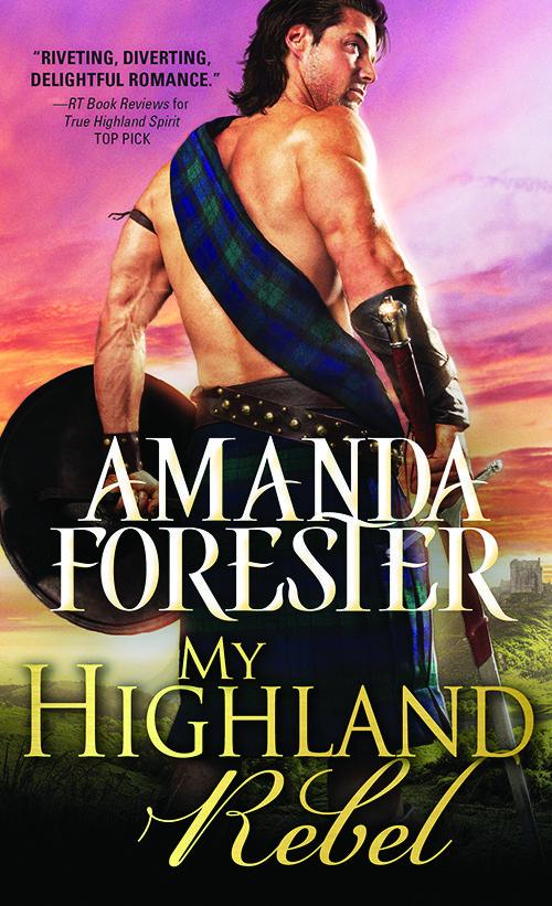 CVR My Highland Rebel_ Amanda Forester
