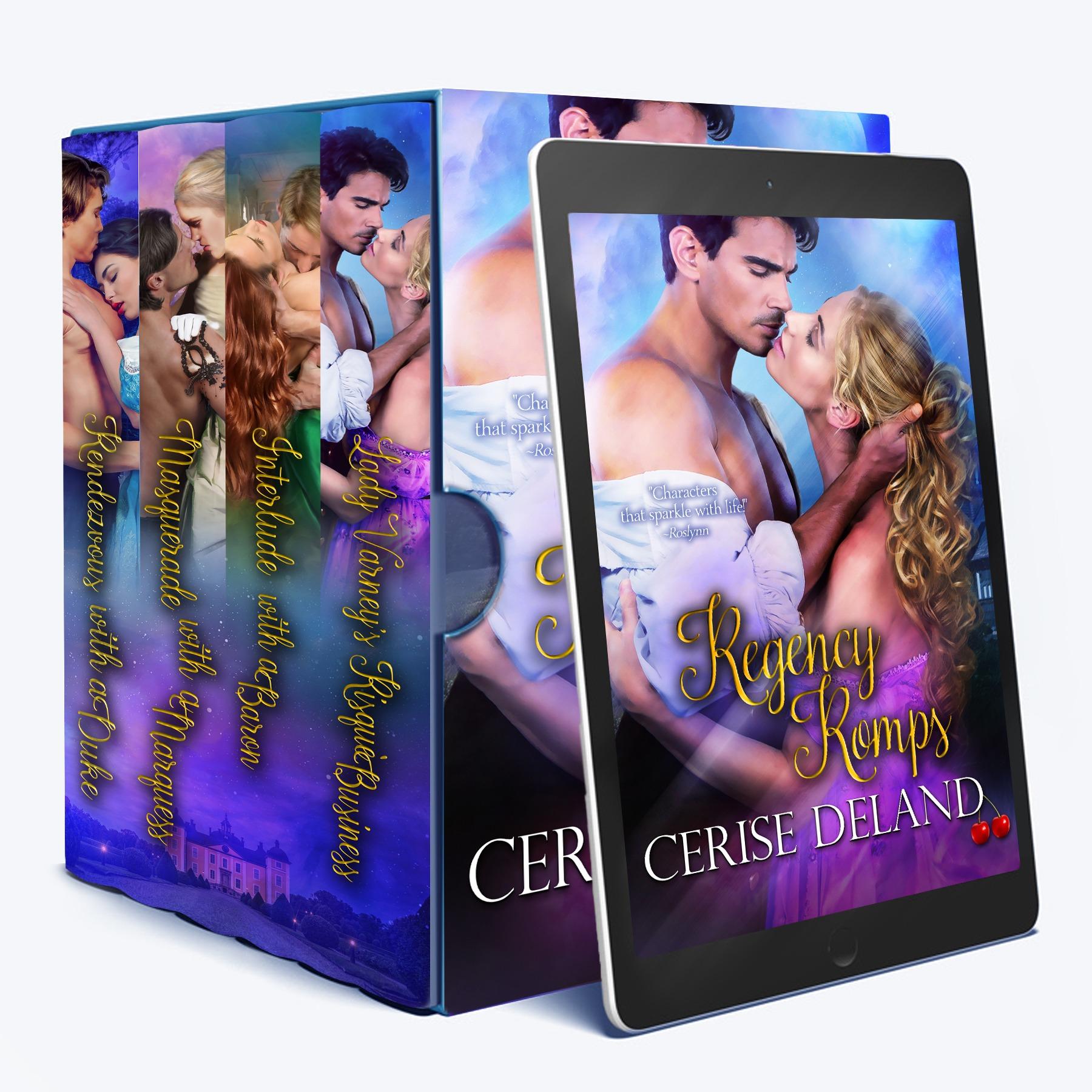 A Regency Romp Box Set by Cerise DeLand 3D_Huge